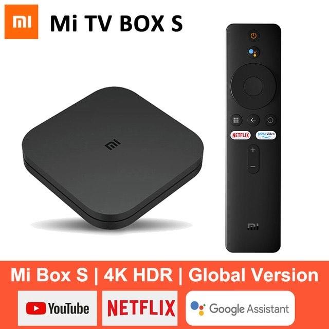 [11.11] Xiaomi Mi TV Box S 4K Android 8,1 HDR 2G 8G WiFi BT 4,2 Google Cast netflix Smart TV Box Media Player Globale Version