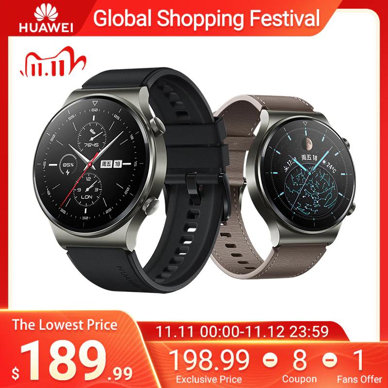 HUAWEI Watch GT 2 Pro Schwarz oder Grau 187,24 € inkl. EUSt