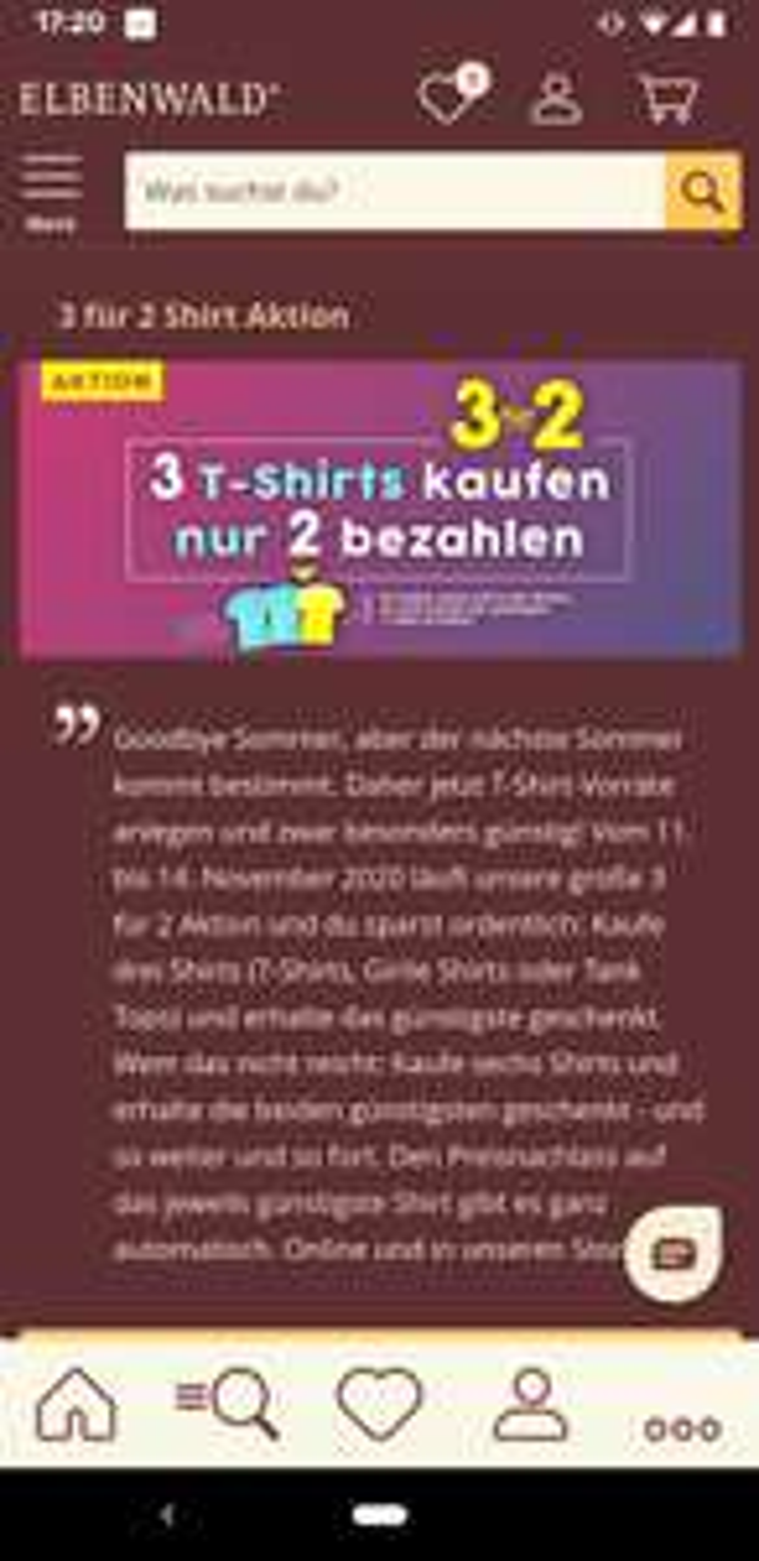 Elbenwald 3 T-Shirts zum Preis von 2 (1 T-Shirt gratis) fast 1700 Motive