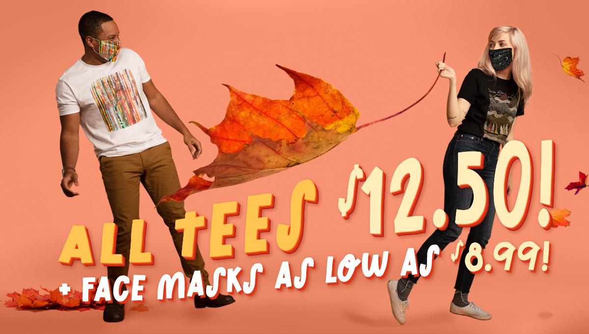 Threadless Alle Shirt in Regular Quality für $12,50