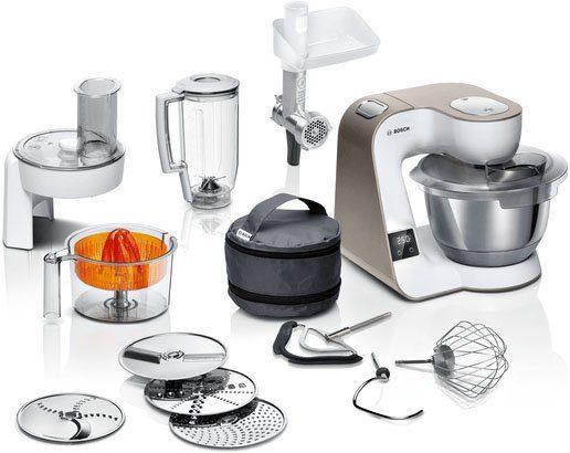BOSCH Küchenmaschine Mum5 scale mit integrierter Waage, 1000 W MUM5XW40
