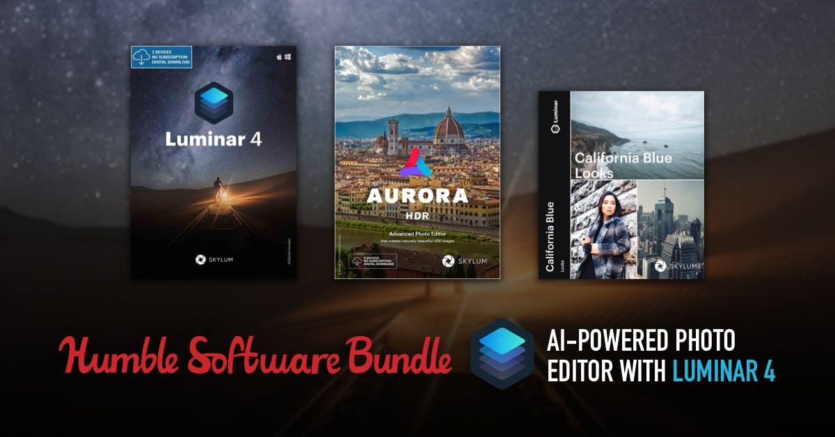 Luminar 4 (plus Aurora HDR und vieles mehr) im Bundle