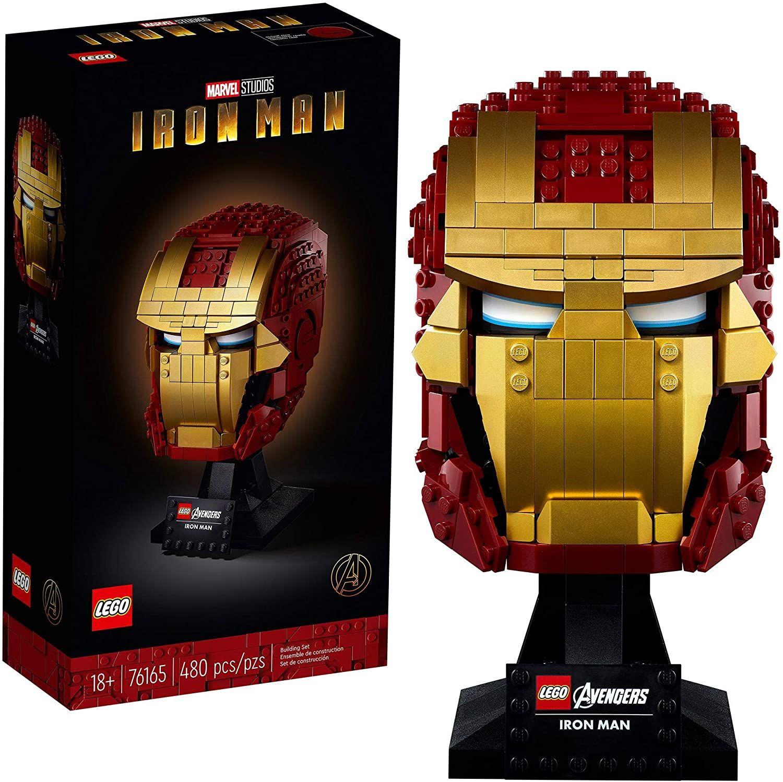 [amazon prime] Lego 76165 Marvel's Avengers - Iron Man's Helmet