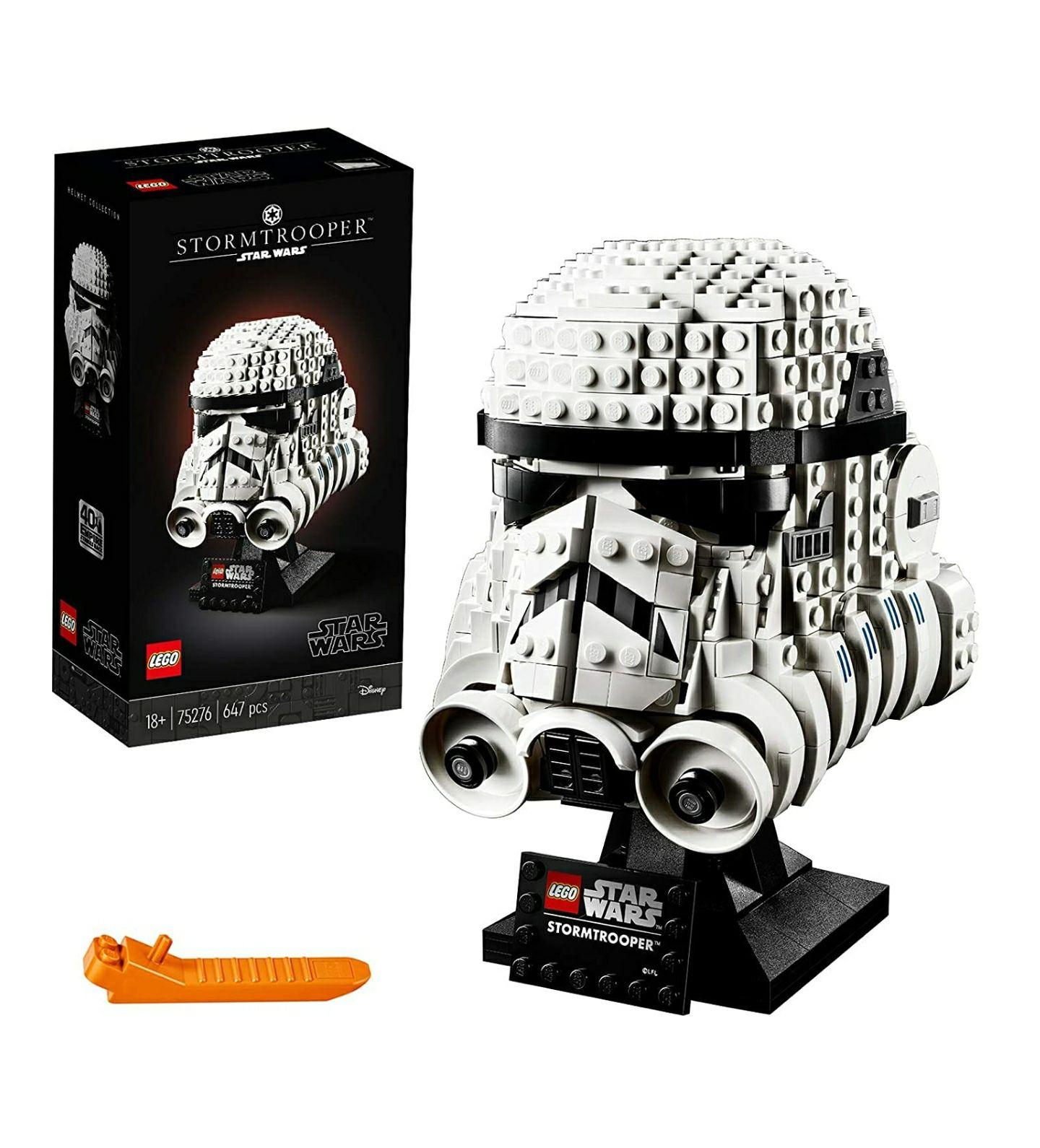 [Amazon] LEGO Star Wars Stormtrooper Helm 39,05€ & 75277 Boba Fett Helm 40,04€