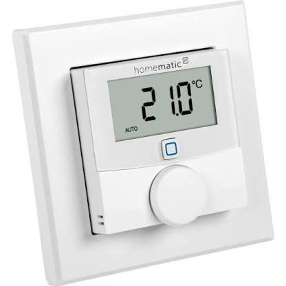 (Prime) Homematic IP Smart Home Wandthermostat mit Luftfeuchtigkeitssensor