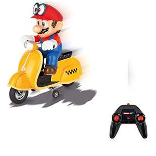 Carrera RC Super Mario Odyssey Scooter – Ferngesteuerter Elektro-Roller [Amazon]