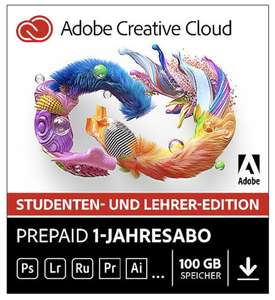 [EDU] Adobe Creative Cloud Individual (Student & Teacher Edition) 1Jahr Download bei Cyberport