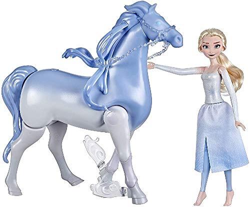 Frozen II - Elsa Puppe und Nokk Figur (batteriebetrieben)