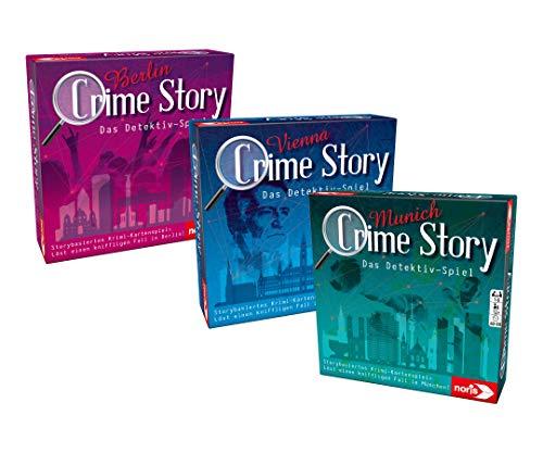 [PRIME] Crime Story Munich-Das Detektiv Spiel-Storybasiertes Krimi-Kartenspiel zum Thema München, ab 12 Jahren