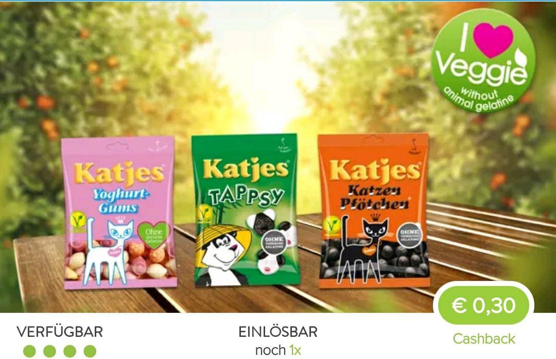 (Kaufland) Katjes für 0,44€ im Angebot mit Marktguru Cashback effektiv 0,14€