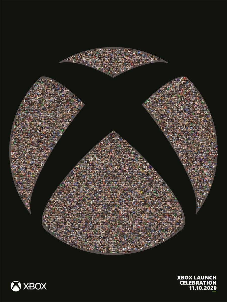 Xbox Fan Mosaic Poster kostenlos