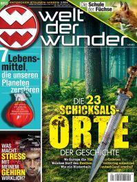 Welt der Wunder Abo (12 Ausgaben + 2 gratis Hefte) für 47,88 € mit 35 € Amazon-/Tank-/oder BestChoice-Gutschein