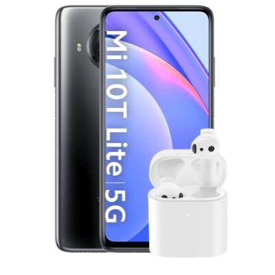 Xiaomi Mi 10T Lite (128GB) + True Wireless Earphones 2 mit 7GB LTE Blau Allnet XL Tarif für 5,86€ Zuzahlung & 17,99€ / Monat [o2-Netz]