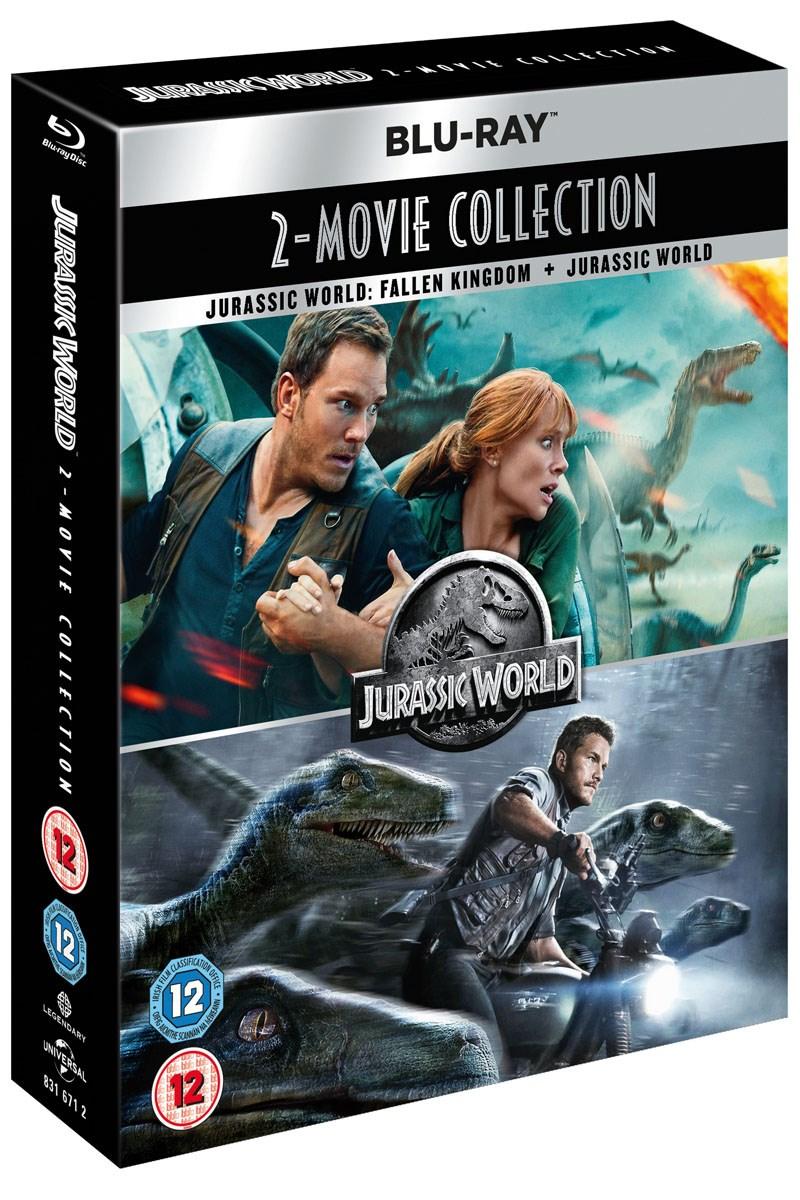 (O-Ton) Jurassic World/Jurassic World - Fallen Kingdom [Blu-ray] für 8,89€ @ Zoom