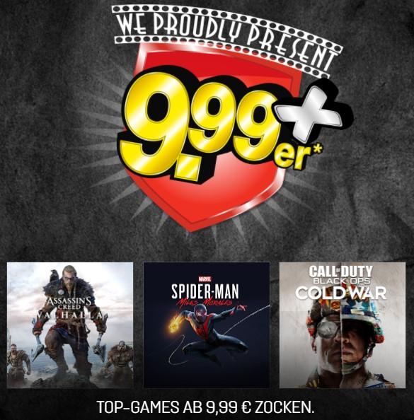 Gamestop 9,99er: Spider-Man: Miles Morales (Ultimate für 56,23€) & Call of Duty: Black Ops Cold War (Ps5/XsX für 56,23€)