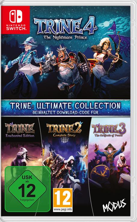 Trine: Ultimate Collection (Switch) für 14,99€ (Nintendo eShop)