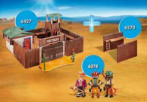 Playmobil Western Fort Bundle aus 6427 6270 6278