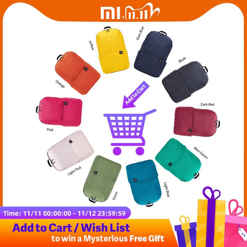 Xiaomi Mi Rucksack 10L in verschiedenen Farben
