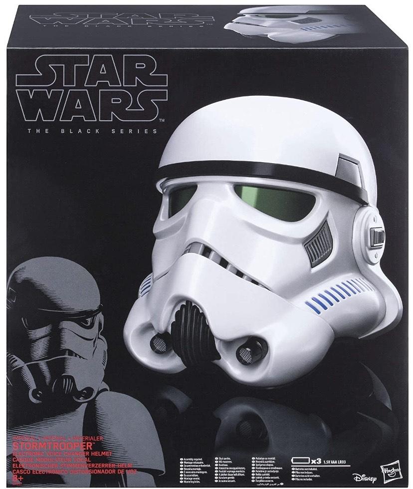 [EMP] Hasbro Star Wars Black Series Stormtrooper Helm (Rogue one, elektrischer Stimmverzerrer)