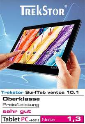Trekstor SurfTab® ventos 10.1 ab morgen 06.02. wieder bei Norma 189€