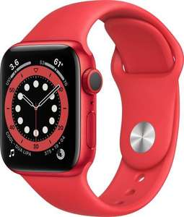 Apple Watch Series 6 GPS 40mm Aluminium Sportarmband PRODUCT RED für 368,91€ inkl. Versandkosten