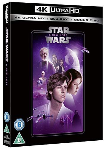 (4K UHD Disk   Fur Puristen: Star Wars Original-Saga für 44,64 Euro (evtl. auch andere Filme)