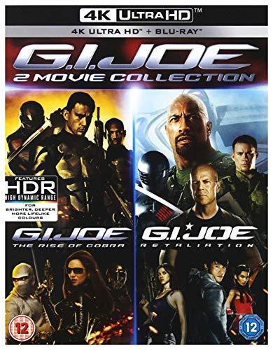 G.I. Joe - Geheimauftrag Cobra + Die Abrechnung (4K Blu-ray + Blu-ray) für 19,68€ (Amazon UK)
