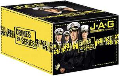 JAG - Im Auftrag der Ehre Komplettbox Staffeln 1 bis 10 - 54 DVDs