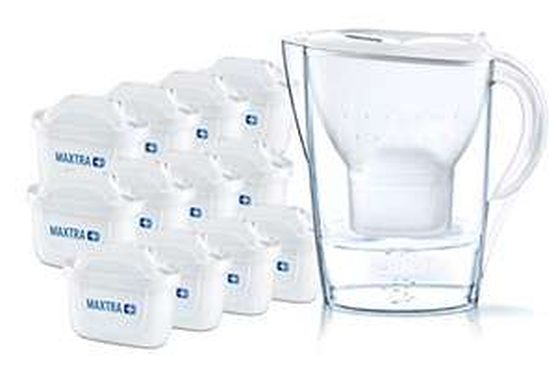 """BRITA Wasserfilter """"Marella"""" (12 MAXTRA+ Filterkartuschen) für 46.99€, 6er-Pack für 26.99€ [Amazon-Prime]"""