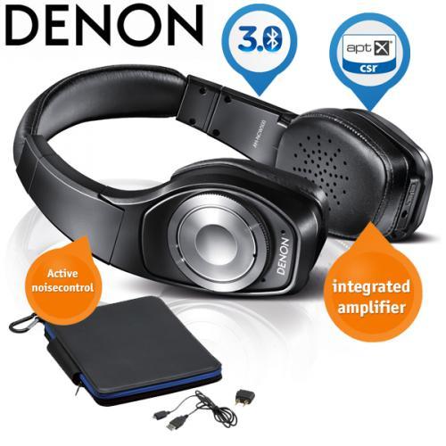 Denon Globe Cruiser AH-NCW500 Wireless Kopfhörer mit aktiver Geräuschunterdrückung und integriertem Verstärker @ iBood