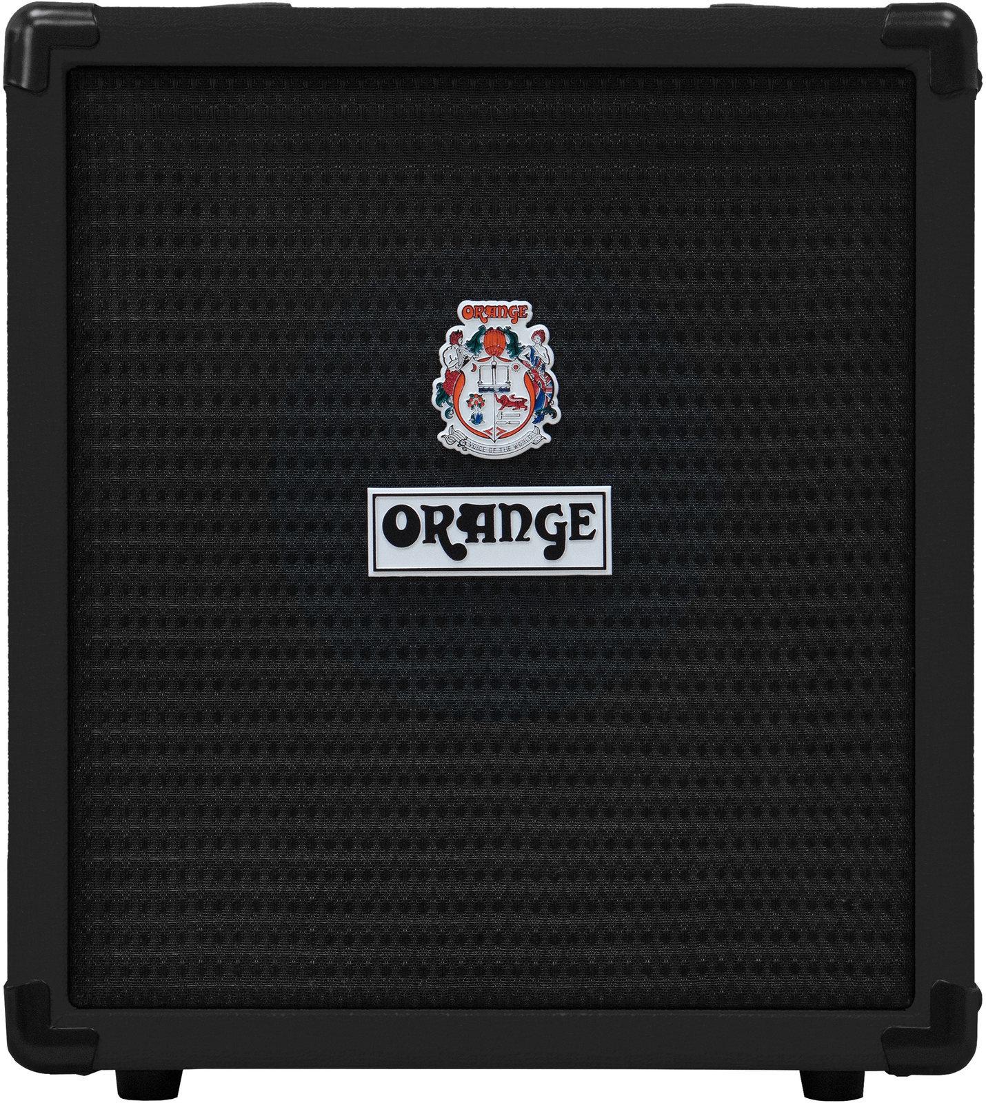 Kultiger E-Bass-Übungsverstärker: Orange Crush Bass 25 (Schwarz)