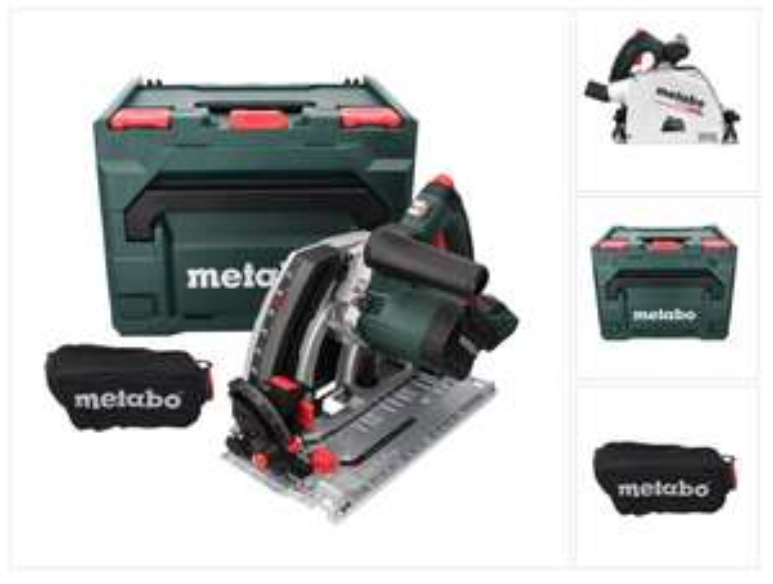 METABO Akku-Tauchkreissäge KT 18 LTX 66 BL + Metabox
