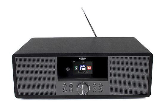 Internet-Radio Xoro HMT 600, Internet, DAB, DAB+, FM, CD-Player, 20 Watt, FLAC, MP3,WAV, WMA, TFT-LCD für 88 Euro [Real]