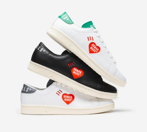 60% Rabatt auf adidas Originals x Human Made, z.B. Stan Smith in 3 Farben