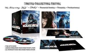 Space Pirate Captain Harlock 3D Limited Collectors Edition Steelbook (3D Blu-ray + DVD) für 13,23€ (Amazon Prime)