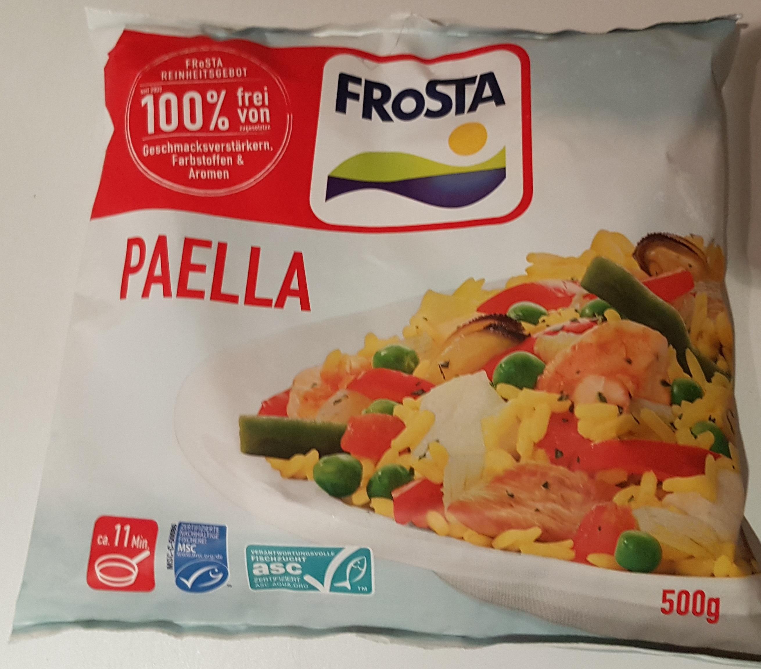 [Lokal] FROSTA Paella 500g Beutel für 0,99€ bei Frostkauf