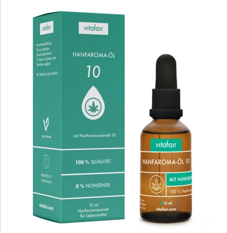 Hanfaroma-Öl 10 ml, versandkostenfrei
