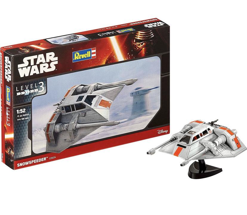 Revell Modellbausatz Star Wars Snowspeeder im Maßstab 1:52