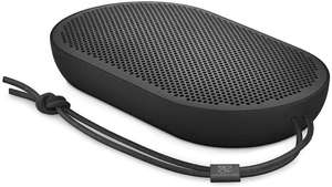 Bang & Olufsen Beoplay P2 Bluetooth-Lautsprecher (tragbar, mit integriertem Mikrofon) schwarz [Amazon & Mediamarkt]