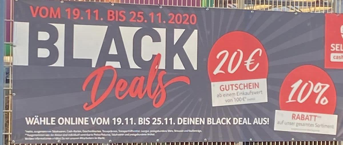 Selgros Blackdeals 10% Rabatt / 20€ Gutschein uvm