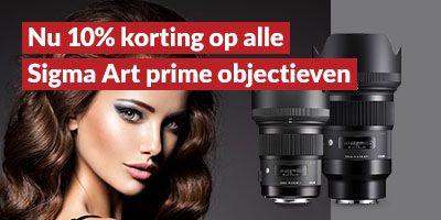 10% Rabatt auf alle Sigma Art Prime Objektive - z.B. 85mm F1,4 Objektiv für L Mount