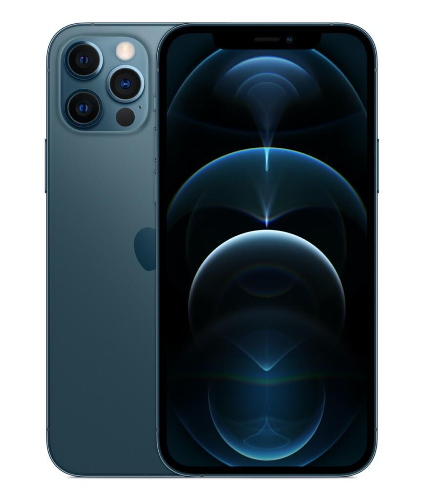 "Apple iPhone 12 Pro (128GB, Pacific Blue, 6.10"", Dual SIM, 12Mpx, 5G)"