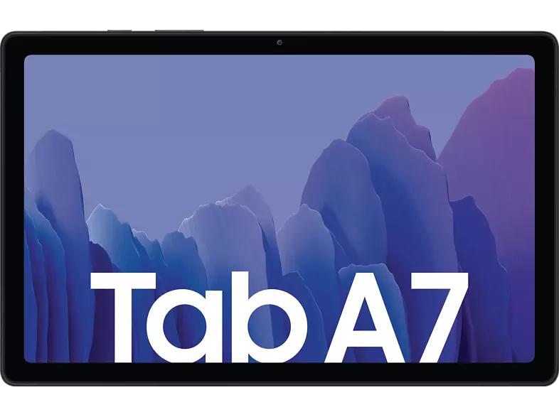 (MediaMarkt & Saturn) SAMSUNG TAB A7 Wi-Fi, Tablet, 32 GB, 10,4 Zoll, Grau (mit Shoop 10€ Gutschein MM nur 169,11€)