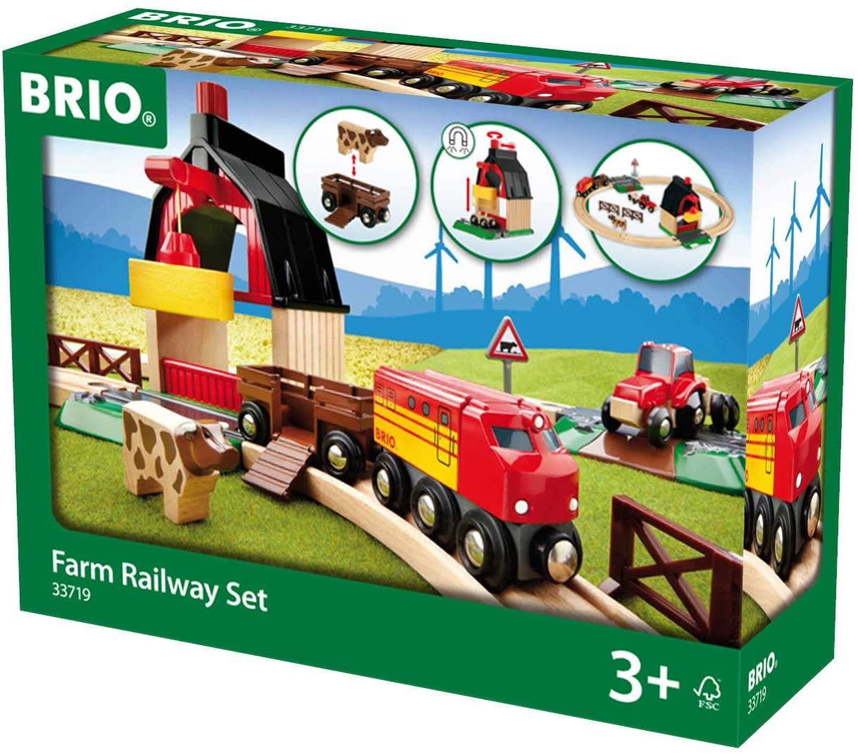Brio Bahn (Amazon Prime) - 33719, 33593, 33592, , 33052, ... viele weitere