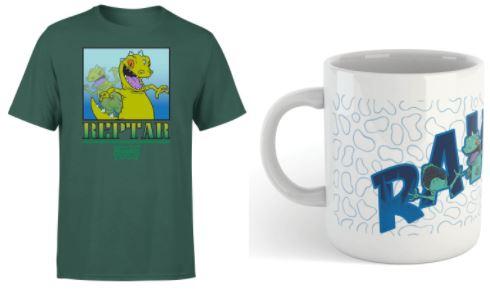 Rugrats Reptar T-Shirt + Tasse