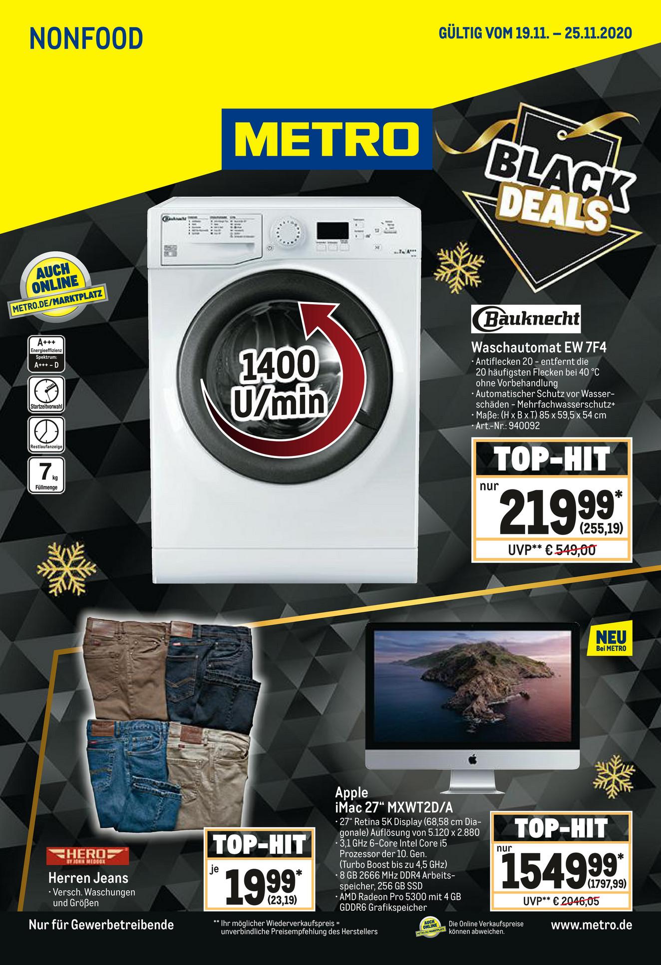 Bauknecht Waschmaschine EW 7F4 A+++