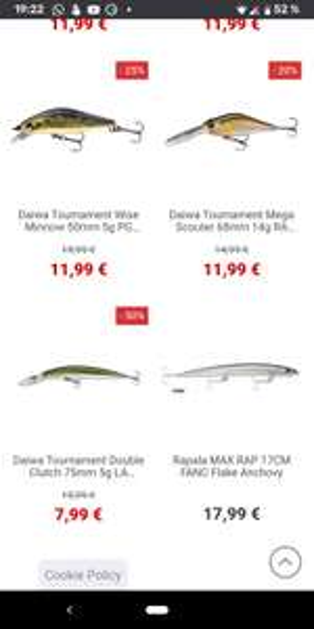 Daiwa Tournament Hardbaits