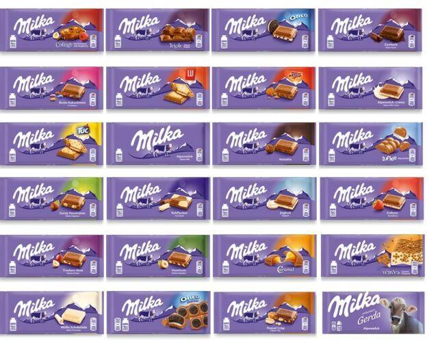 [Kaufland Do-Mi] 9x Milka Schokolade 85g - 100g mit Prospekt Coupon für 3,13€ (Stückpreis ca 0,35€)
