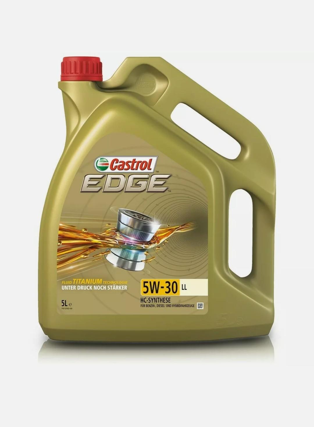 Castrol Edge Fluid Titanium - 5 Liter 5W-30 LL Motoröl