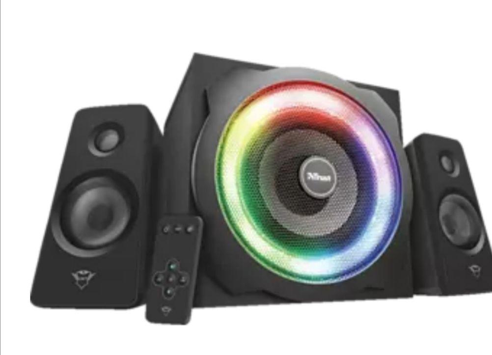 TRUST GXT 629 Tytan schwarz PC-Lautsprecher